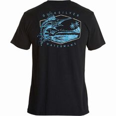 Quiksilver Men's The Jumper II Tee Black S Men's, Black, bcf_hi-res