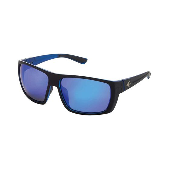 Stingray Barb Polarised Sunglasses Black / Blue Lens, Black / Blue Lens, bcf_hi-res
