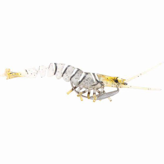 Savage 3D Shrimp Soft Plastic Lure 2.5in Zebra, Zebra, bcf_hi-res