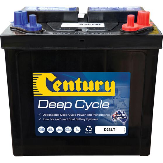 Century D23LT Deep Cycle Battery, , bcf_hi-res