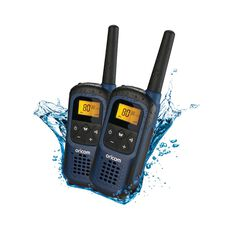 Oricom Waterproof UHF - 2W, 2 Pack, UHF2295-2BL, , bcf_hi-res