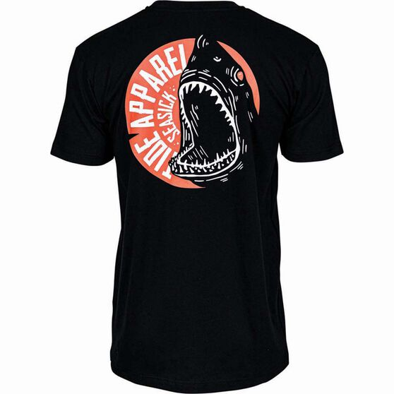 Tide Apparel Men's Seasick Tee, Black, bcf_hi-res