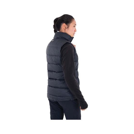 Macpac Women's Halo Down Vest, Black, bcf_hi-res