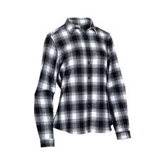 Outrak Women's Flannel Shirt Black / White 8, Black / White, bcf_hi-res