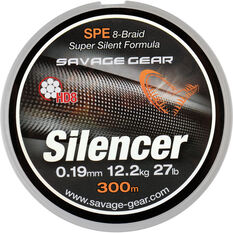 Hd8 Silencer Braid Line 300m 11.9lb Gunsmoke 300m, , bcf_hi-res