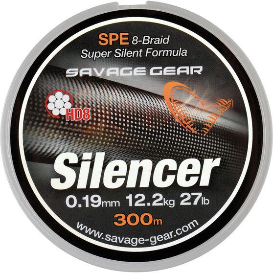 Savage Hd8 Silencer Braid Line 300m 32.2lb Gunsmoke 300m, , bcf_hi-res