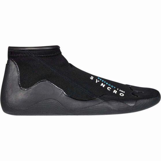Quiksilver Kids' Syncro Reef Walker Aqua Shoes, Black, bcf_hi-res