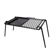 Campfire Mesh Grill and Flat Plate Combo 43x33cm, , bcf_hi-res