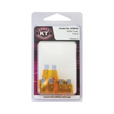 KT Cables Standard Blade Fuse 5 Pack, , bcf_hi-res