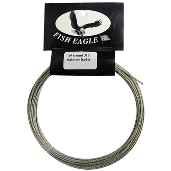 Fish Eagle Lures 49 Strand Stainless Steel Wire, , bcf_hi-res