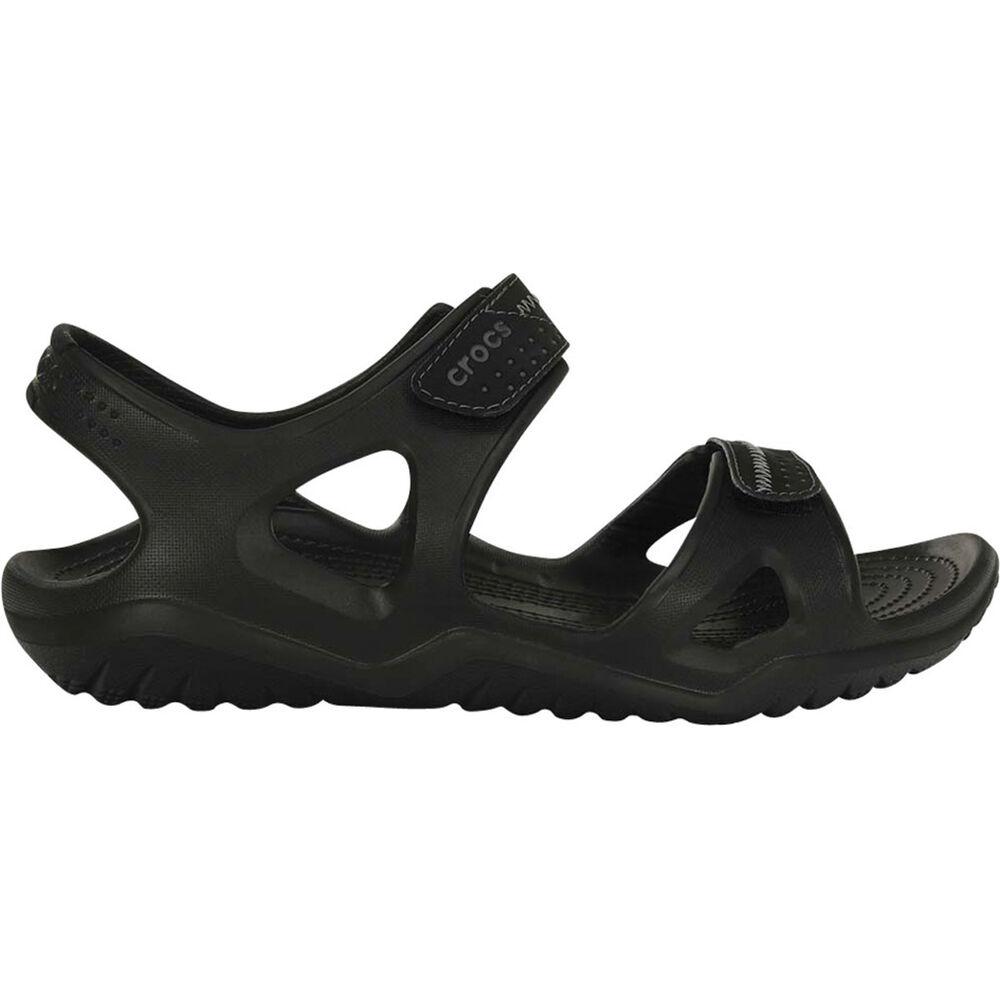 76e6b9da3d6 Crocs Men s Swiftwater River Sandal Black 7