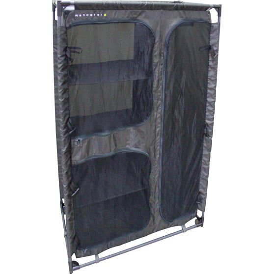 4 Shelf Wardrobe, , bcf_hi-res