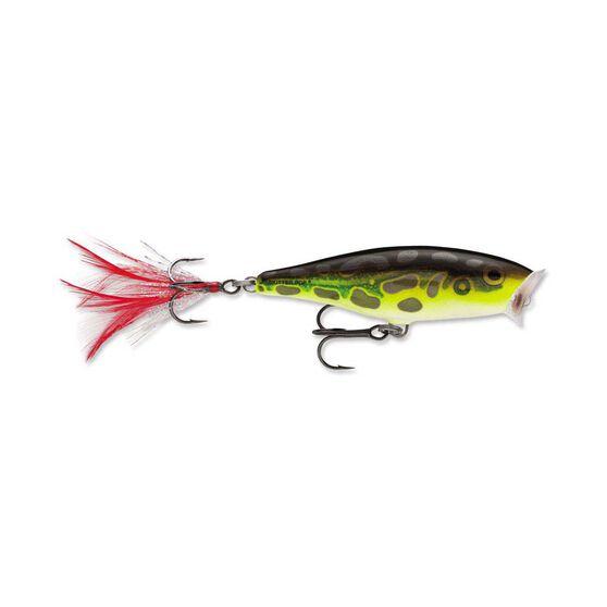 Rapala Skitter Pop Surface Lure 7cm Lime Frog, Lime Frog, bcf_hi-res