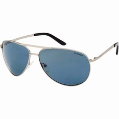 Stingray Men's Mahi Sunglasses Silver / Smoke Lens, Silver / Smoke Lens, bcf_hi-res