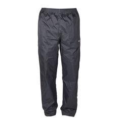 Explore 360 Unisex Rain Shell Pants Black S, Black, bcf_hi-res