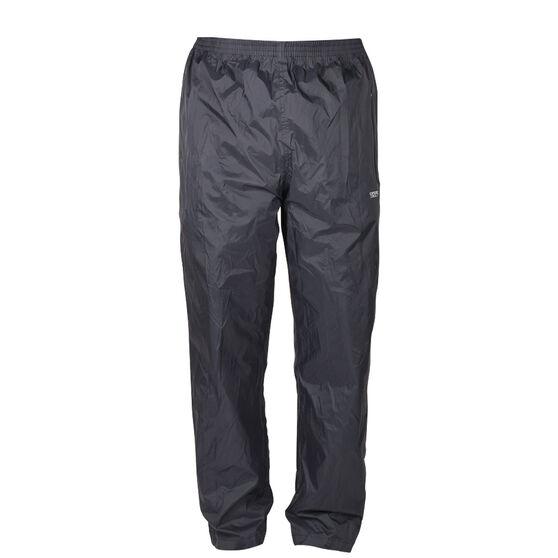 Explore 360 Unisex Rain Shell Pants, Black, bcf_hi-res