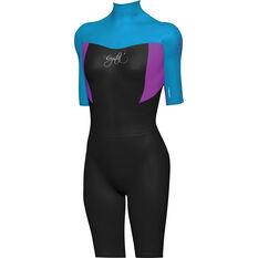 Kids' Superstretch Springsuit Wetsuit Blue 6, Blue, bcf_hi-res