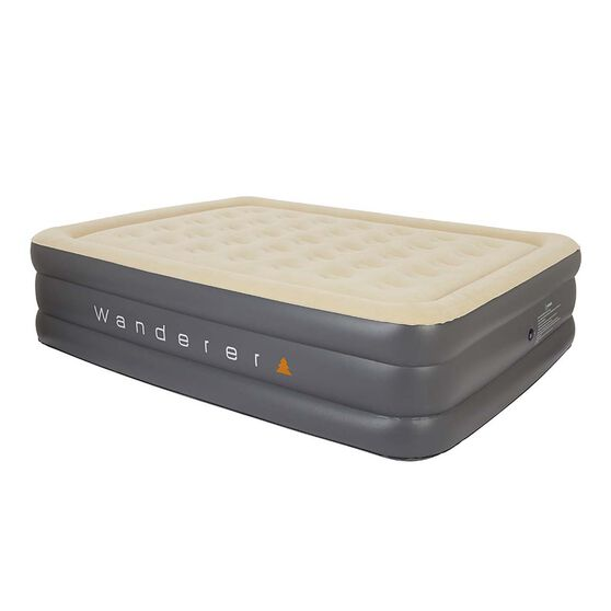 Double High Premium Air Bed Queen, , bcf_hi-res