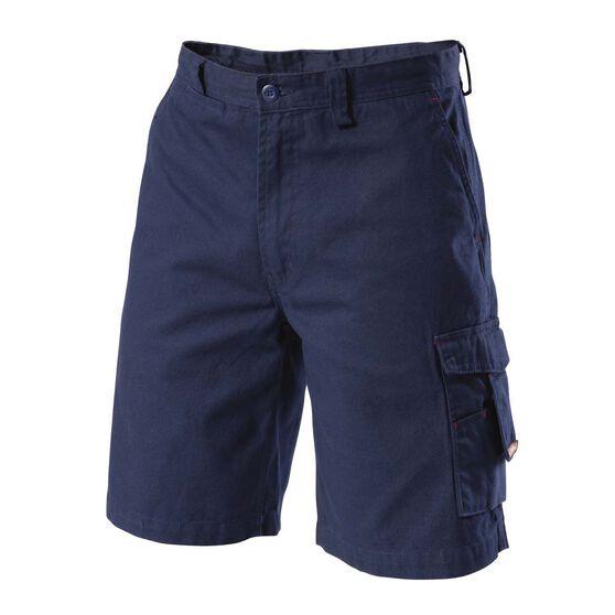Hard Yakka Men's Legends 05900 Shorts Navy 102R Men's, Navy, bcf_hi-res