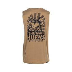 The Mad Hueys Men's Hammerhead UV Muscle Tank Tan S, Tan, bcf_hi-res