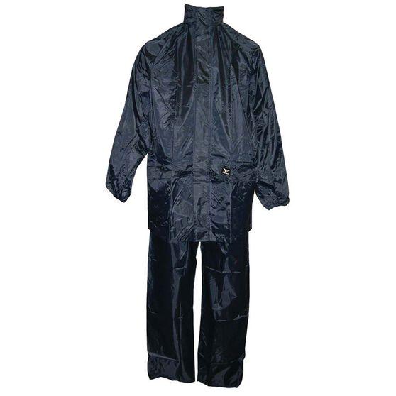 Rainbird Unisex Base Set Rainwear Jacket Navy M, Navy, bcf_hi-res