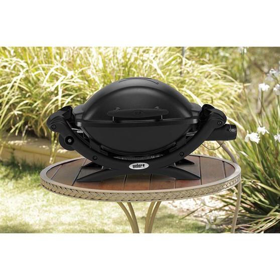 Weber Black Baby Q (Q1000) LP BBQ, , bcf_hi-res