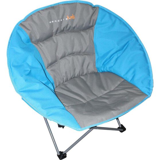 Wanderer Kids' Moon Quad Fold Chair Blue, Blue, bcf_hi-res