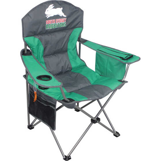 NRL South Sydney Rabbitohs Camp Chair, , bcf_hi-res