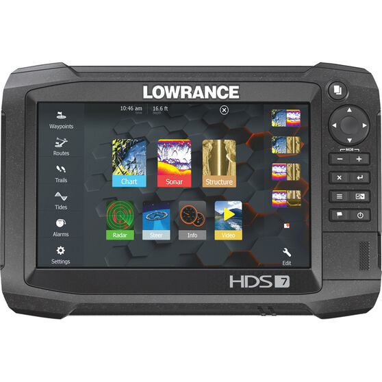 Lowrance HDS-7 Carbon Combo