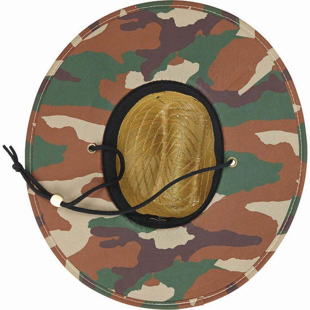 e884b535baf Quiksilver Men s Outsider Straw Hat Dark Forest S   M Men s
