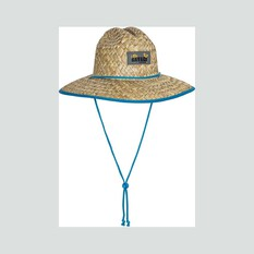 Savage Gear Youth Straw Hat, Natural / Blue, bcf_hi-res