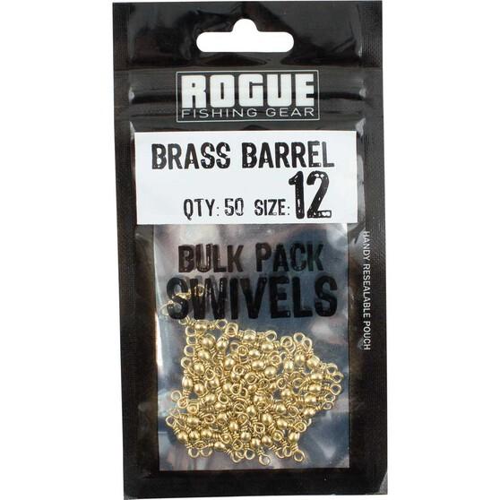 Rogue Brass Barrel Swivel 50 Pack Size 12, , bcf_hi-res