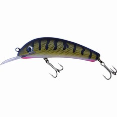 JJS Lures StumpJumper UV Hard Body Lure 105mm Tiger Snake 105mm, Tiger Snake, bcf_hi-res
