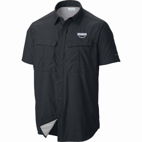 Columbia Men's Cascades Shirt, Black, bcf_hi-res
