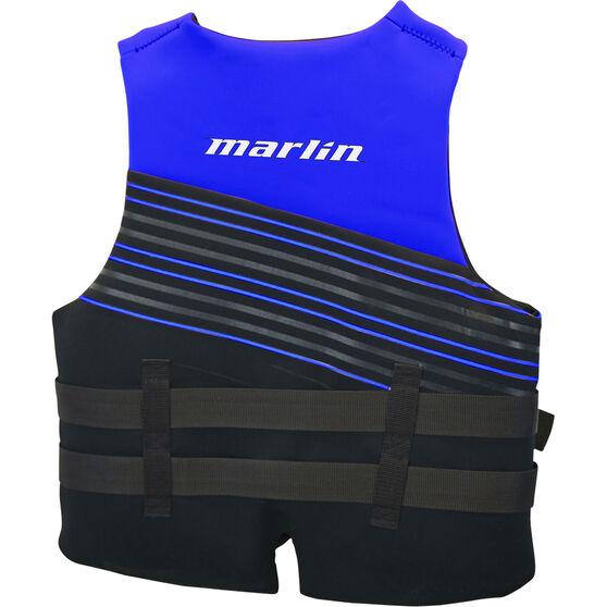 Marlin Australia Adult Ripple PFD 50S Blue M, Blue, bcf_hi-res