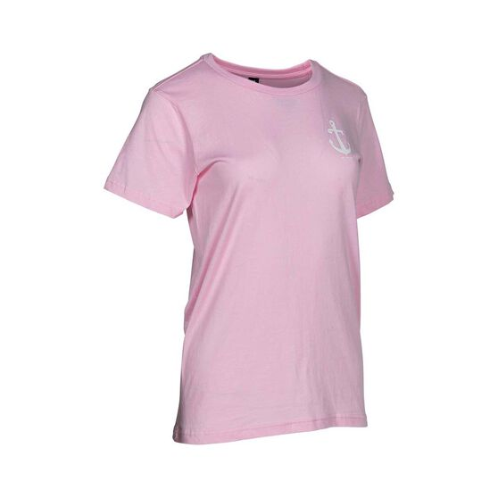 Tide Apparel Women's Aweigh Tee, Pink, bcf_hi-res