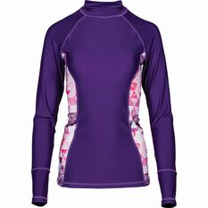 5cd390991fa3 Women s Long Sleeve Rashie Purple 12
