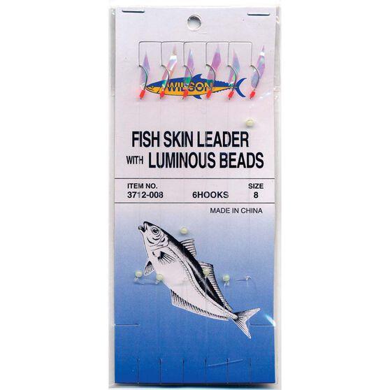 Wilson 6 Hook Bait Rig with Fish Skin, , bcf_hi-res