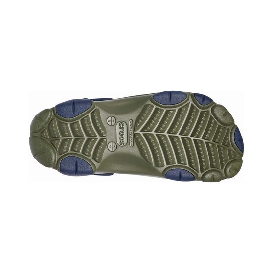 Crocs Men's All Terrain Clog, Green / Navy, bcf_hi-res