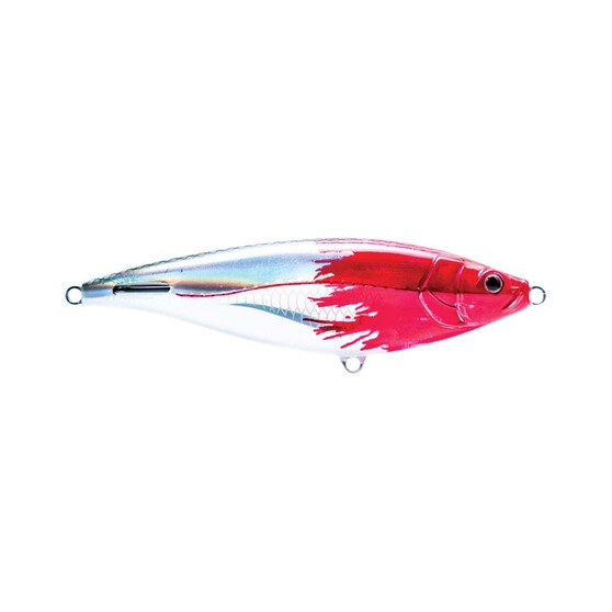 Nomad Madscad Surface Stickbait Lure 15cm S Fireball Red Head, Fireball Red Head, bcf_hi-res