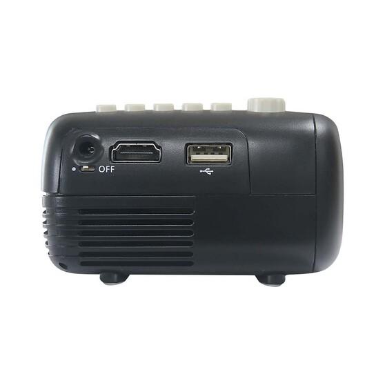 Mini Led Projector, Screen and Speaker Pack, , bcf_hi-res