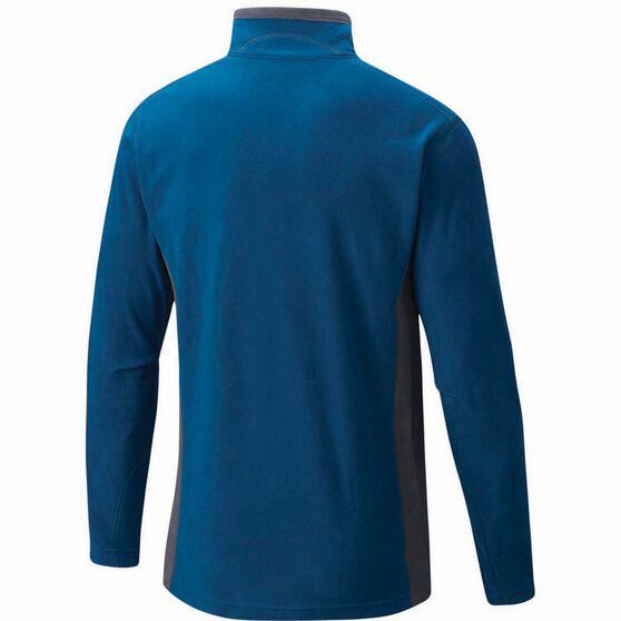 Men's Klamath Ridge II Half Zip Fleece Phoenix Blue L, Phoenix Blue, bcf_hi-res