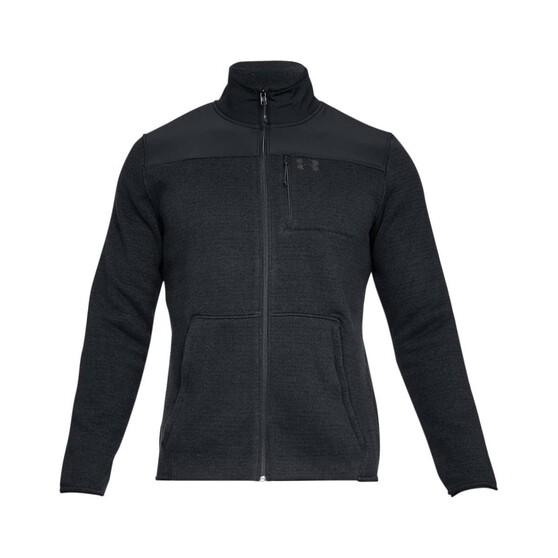 Under Armour Men's Specialist 2.0 Jacket, Black / Charcoal, bcf_hi-res