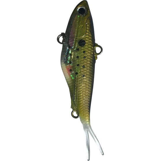 Reidy's Fish Snakz Vibe Lure 9.5cm Gold, Gold, bcf_hi-res