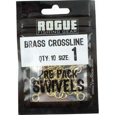 Rogue Brass Crossline Swivel 10 Pack, , bcf_hi-res