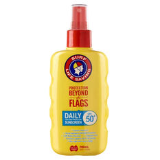 Surf Life Saving SPF50+ Daily Spray Sunscreen 200ml, , bcf_hi-res