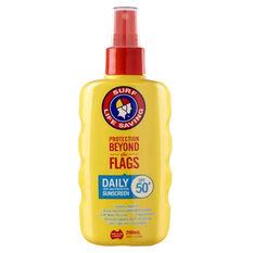 Surf Life Saving SPF50+ Daily Spray Sunscreen 200ml, , bcf_hi-res