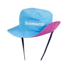 Shimano Kids Reversible Bucket Hat Pink / Cyan, , bcf_hi-res