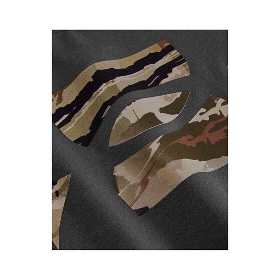 Under Armour Men's Camo Fill Tee, Charcoal / Black, bcf_hi-res