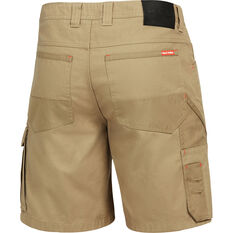 Hard Yakka Men's Legends Y05066 Cargo Shorts Khaki 77R, Khaki, bcf_hi-res